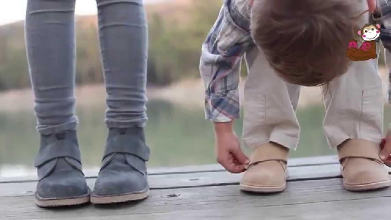Los peques no deben usar botas!!